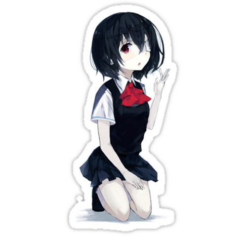 SRBB1482 Another Car Window Decal Sticker anime