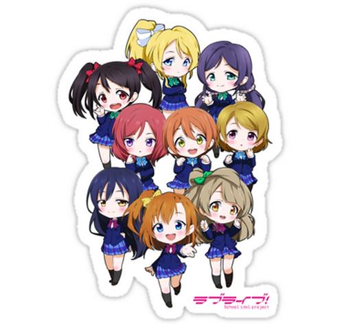 SRBB0844 LOVE LIVE! SCHOOL IDOL PROJECT Car Window Decal Sticker  anime