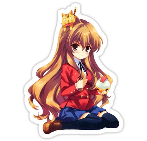 SRBB0865 Kawaii Taiga Aisaka Car Window Decal Sticker anime
