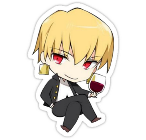 SRBB1445 Fate/Zero Car Window Decal Sticker anime