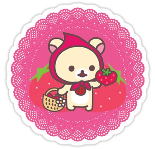 SRBB1124 Korilakkuma San Car Window Decal Sticker anime