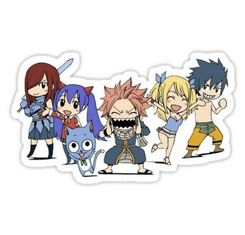 SRBB0446 Fairy Tail's Strongest Team Car Window Decal Sticker anime