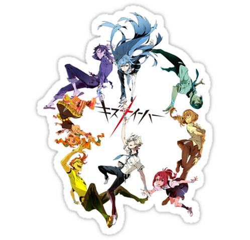 SRBB1028Kiz anime sticker