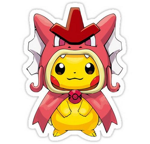 SRBB0417Shiny 130 Poncho anime sticker