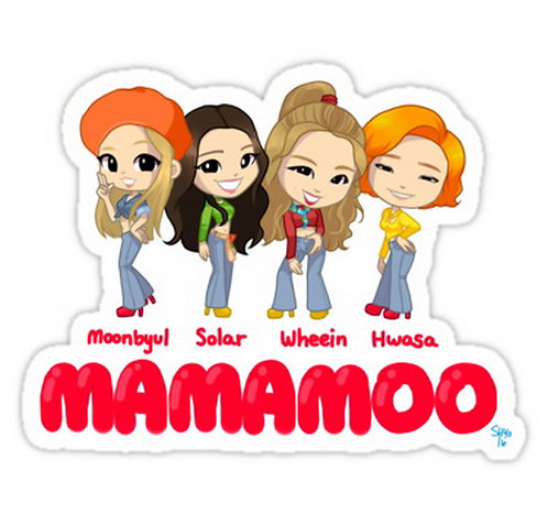 SRBB0448	MAMAMOO - You're The Best anime sticker