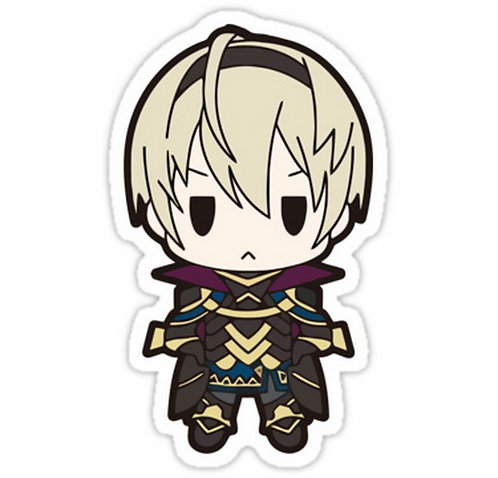 SRBB0188 Fire Emblem Fates: Leon Chibi Car Window Decal Sticker anime