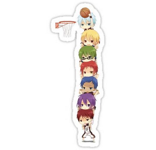 SRBB0347 Kuroko no Basket Car Window Decal Sticker anime