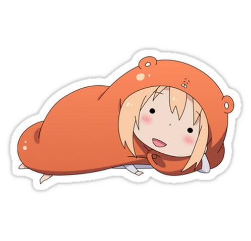 """SRBB1026 """"Hey Sexy"""" Umaru Car Window Decal Sticker anime"""