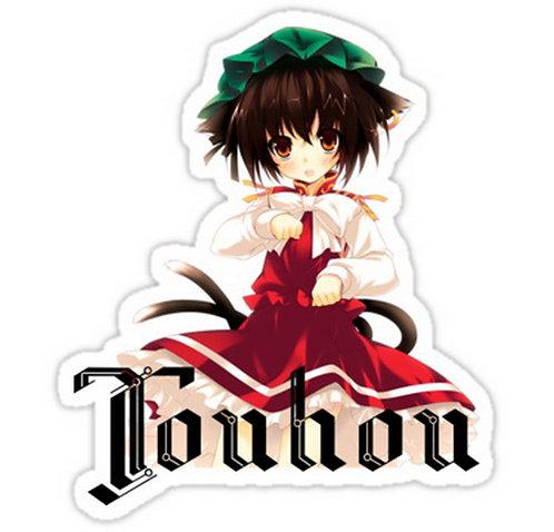 SRBB0067 Chen Touhou Project Car Window Decal Sticker anime