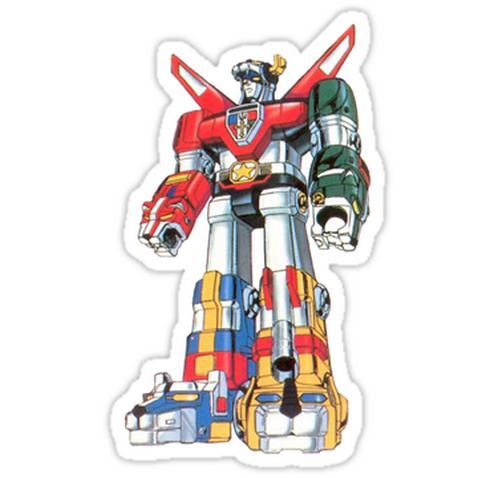 SRBB1044Voltron anime sticker