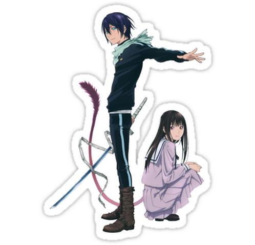 SRBB0890Yato and Hiyori anime sticker
