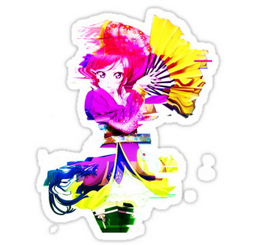 SRBB0338 Love Live! Angelic Angel -- Nishikino Maki Car Window Decal Stick anime