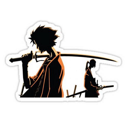 SRBB0129 Samurai Champloo Car Window Decal Sticker anime