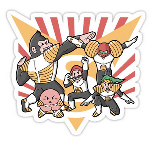 SRBB0440 Smash Force Dragon Ball Z Car Window Decal Sticker anime