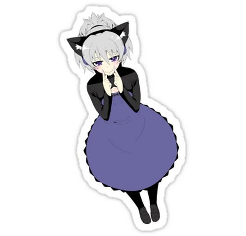 SRBB1474 Darker than Black Car Window Decal Sticker anime
