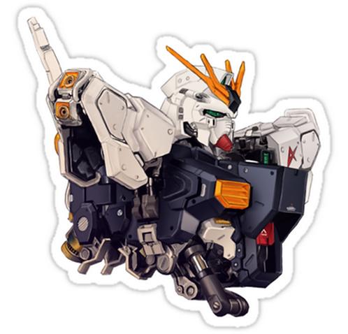 SRBB0981gundam anime sticker
