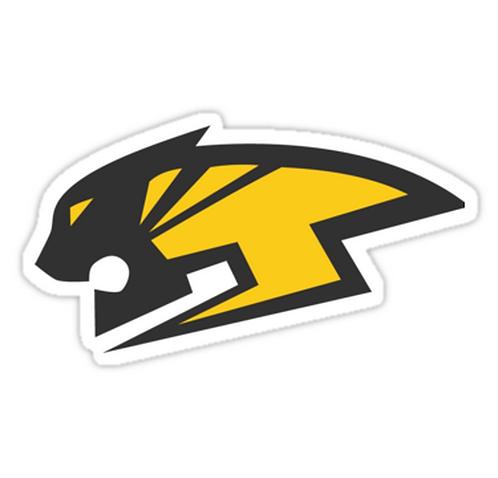 SRBB1729 Wild Tiger Logo - Tiger & Bunny Car Window Decal Sticker anime