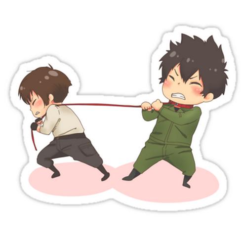 SRBB1667 Psycho-pass Car Window Decal Sticker anime