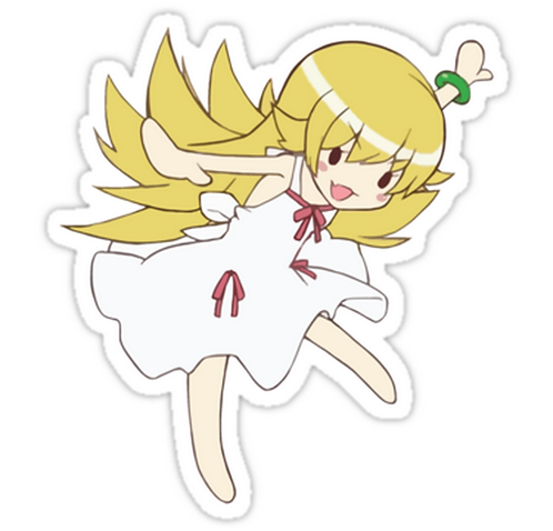 SRBB1751 Monogatari – Vamp Car Window Decal Sticker anime
