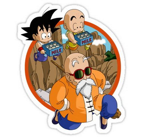 SRBB0317Dragon Ball z Collection anime sticker