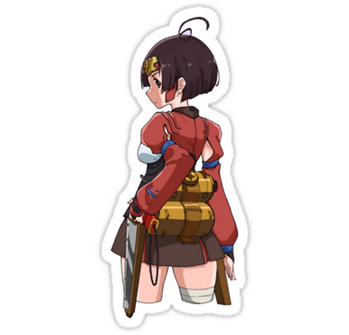 SRBB1210Koutetsujou no Kabaneri anime sticker