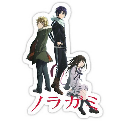 SRBB0085 Yato,Yukine and Hiyori Noragami Car Window Decal Sticker anime