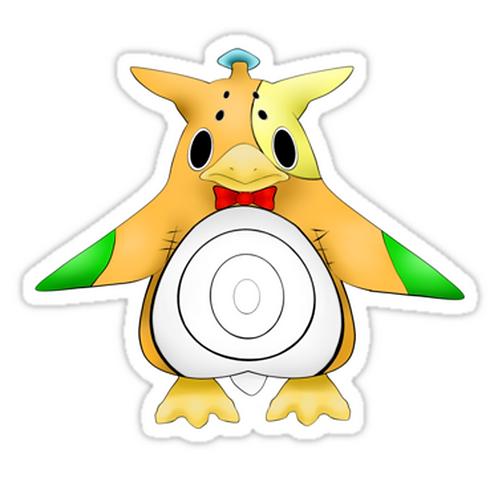 SRBB1249 Penguin of the Dandy Persuasion Car Window Decal Sticker  anime