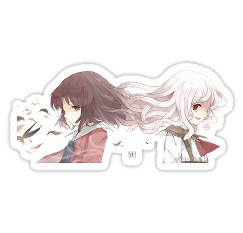 SRBB1515 Nadeko Sengoku Car Window Decal Sticker anime