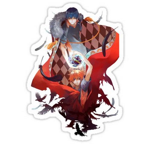 SRBB0192 Anime: Haikyuu Car Window Decal Sticker anime