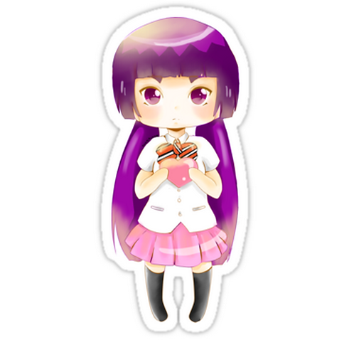 SRBB1452 Izumo Kamiki Car Window Decal Sticker anime