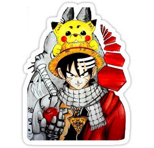 SRBB0354 Childhood AnimeCar Window Decal Sticker anime
