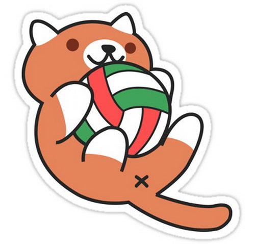 SRBB0375 Haikyuu Atsume - Hinata Car Window Decal Sticker anime