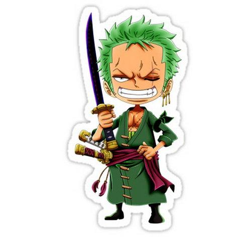 SRBB0264 Roronoa ZoroCar Window Decal Sticker anime