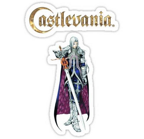 SRBB0478 Castlevania Judgement - Alucard Car Window Decal Sticker  anime