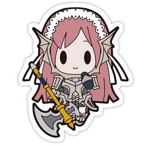 SRBB0247 Cherche ChibiCar Window Decal Sticker anime