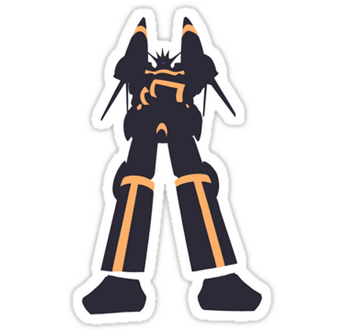 SRBB1304 Aim For The Top! Car Window Decal Sticker anime
