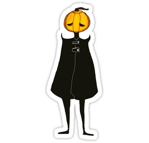 SRBB1156 So Spooky Car Window Decal Sticker anime