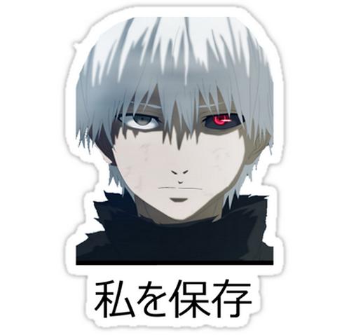 SRBB1324 Kaneki Ken Car Window Decal Sticker anime