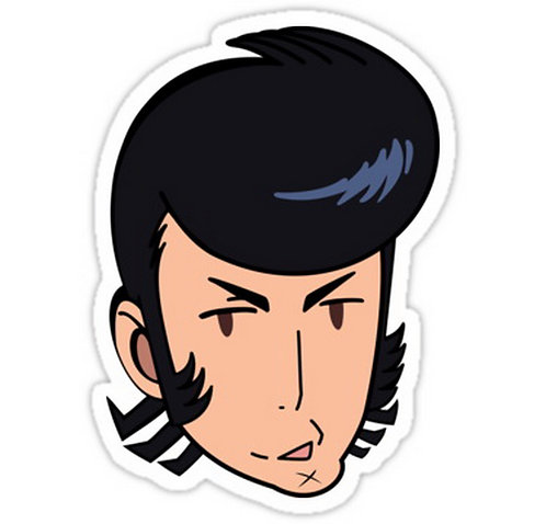 SRBB0035 Space Dandy Car Window Decal Sticker Anime Sticker