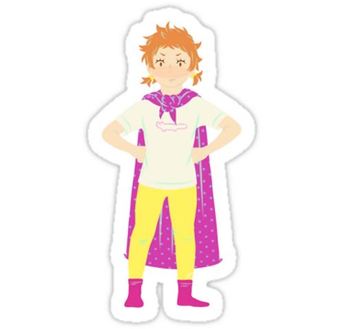 SRBB1219 Superhero Natsu Car Window Decal Sticker anime