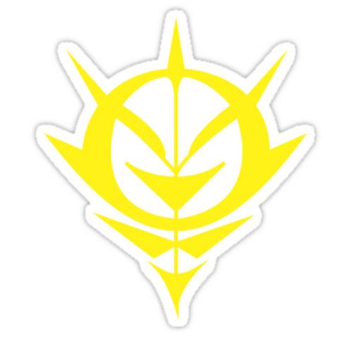 SRBB1779 Neo Zeon Car Window Decal Sticker anime