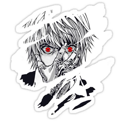 SRBB1073Hunter x Hunter Kurapika anime sticker