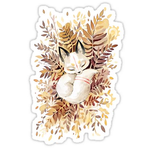 SRBB1098 Slumber Car Window Decal Sticker anime