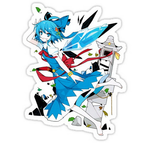 SRBB0106cirno [touhou]  Anime sticker