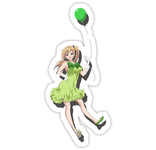 SRBB1345Mai anime sticker