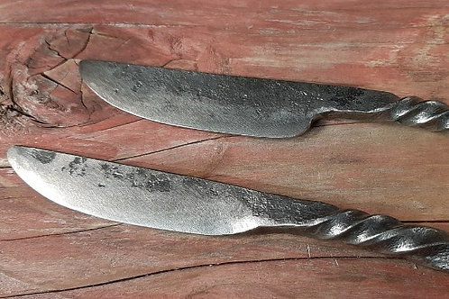 Butter and cheese knives