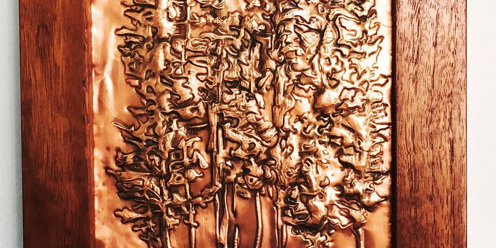 Copper embossing