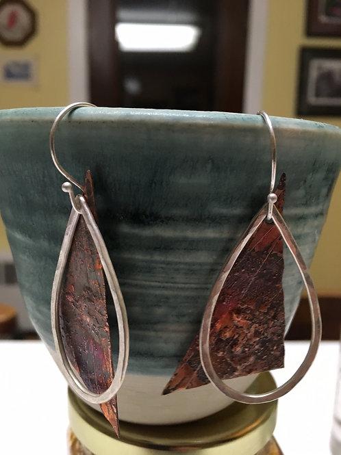 Reticulated copper drops