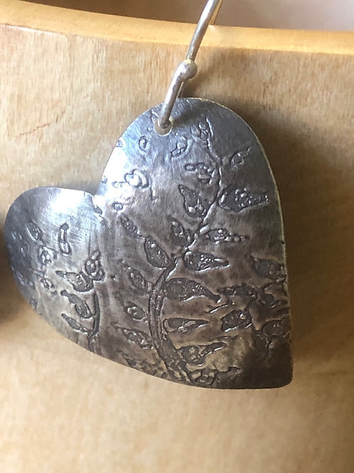 Woodland hearts pendant