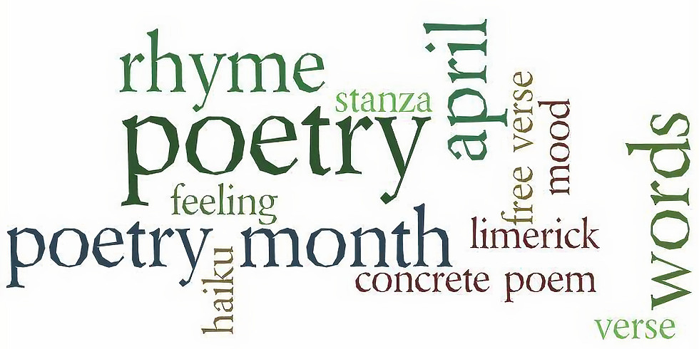 Poetry reading!